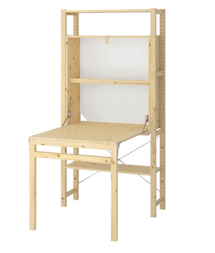 foldable table ikea ivar
