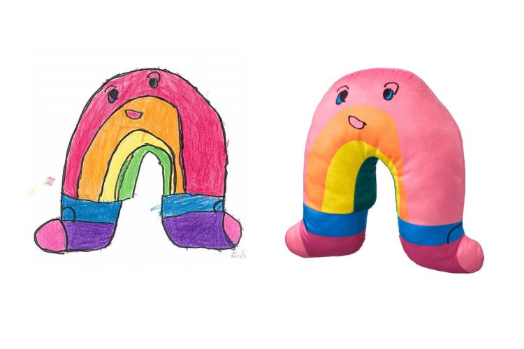 rainbow with socks