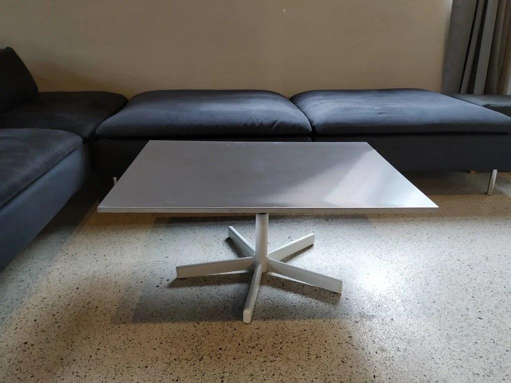 minimalist height adjustable rotating