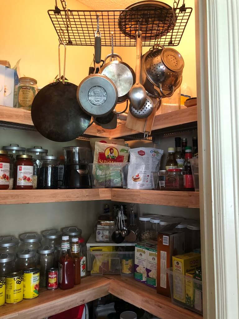 5 hanging pot racks to keep pots pans