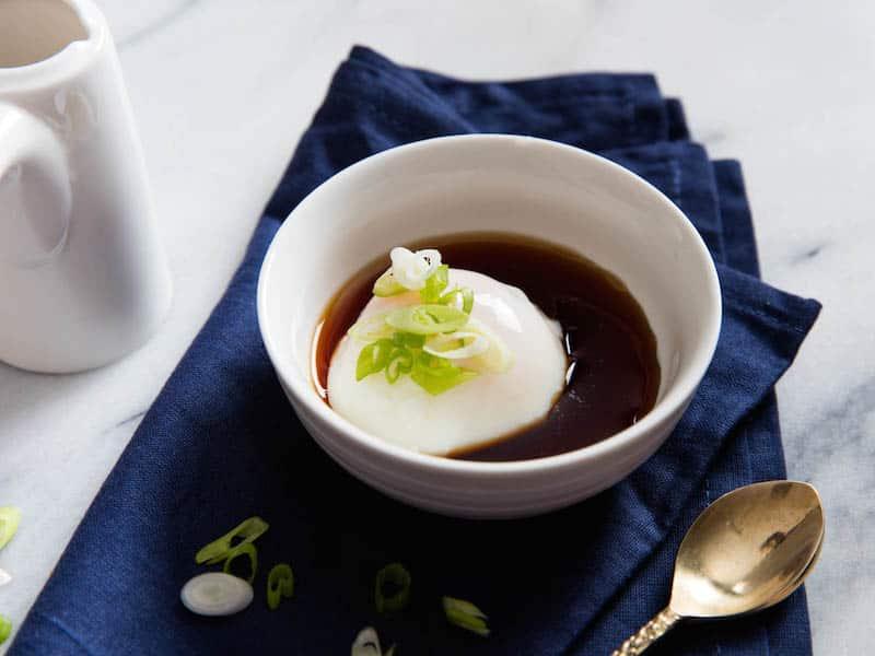 Onsen Egg in Bowl