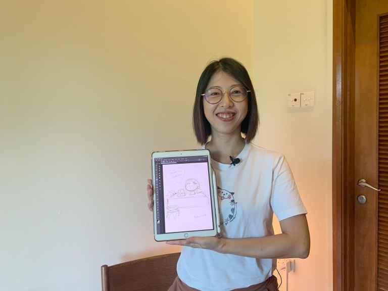 Interview with Evacomics, a Singaporean manga artist