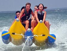 banana boat rides - ikes beach service