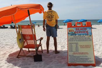 Ike's Beach Service Beach Rentals