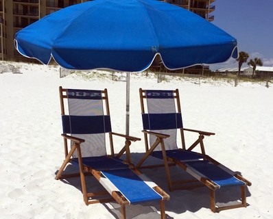 Beach Equipment Rentals - Beach Chair Set Rental