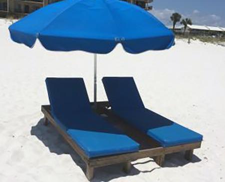 lounger-set-rental-umbrella