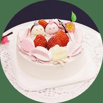 イトーヨーカドーひな祭りケーキ1