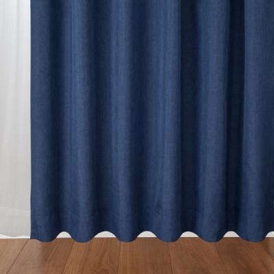 イオン遮光裏地付カーテン4枚セット