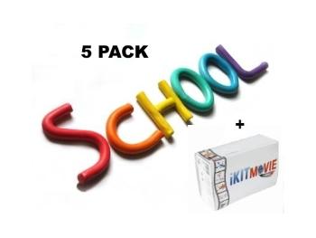 5 Pack School - 5 KIT Pack
