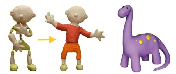 simple characters in clay - How to make a simple Claymation Character