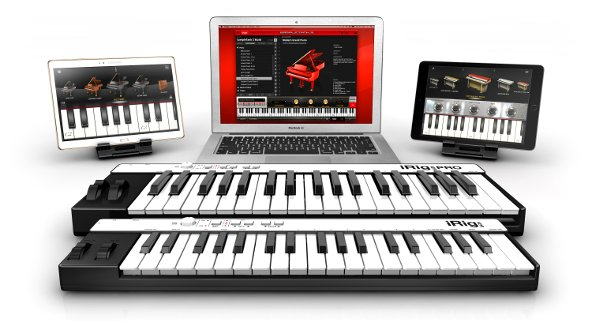 iRig Keys and iRig Keys PRO for Android, iOS, Mac and PC