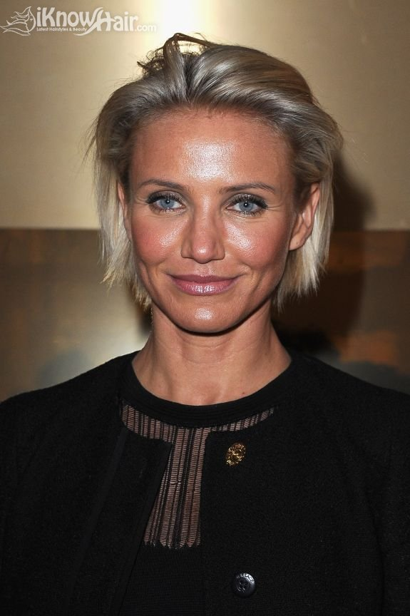 Cameron Diaz Hairstyles Cameron Diaz Short Hair Bob