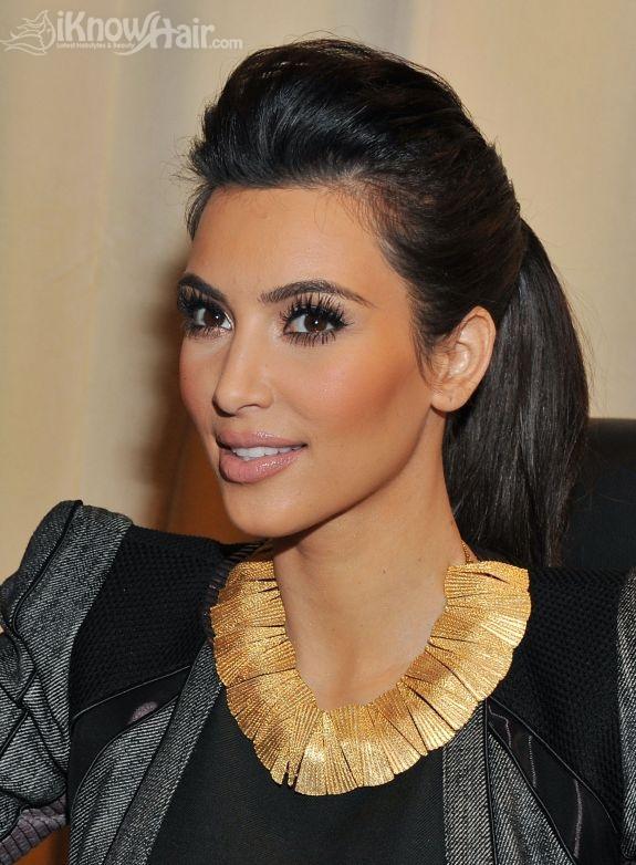 Kim Kardashian Hair Kim Kardashian Hairstyles Blonde