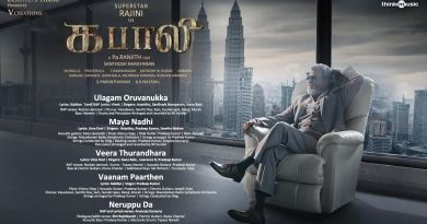 Kabali Audio Track List
