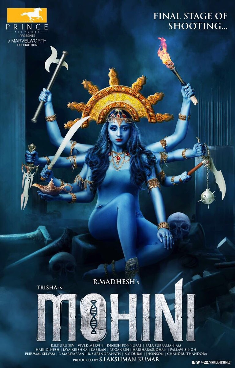 Mohini Tamil Movie First Look