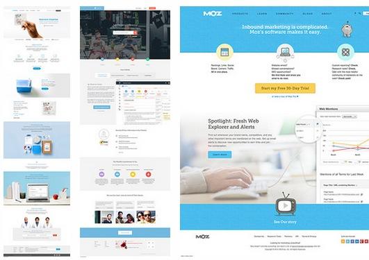 網站設計靈感選集--產品主題網