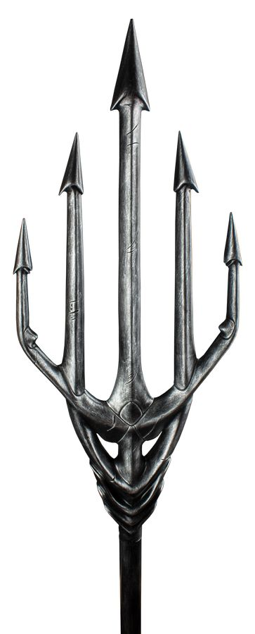Justice League Aquamans Trident With Treasure Chest