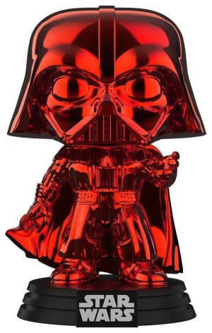 Star Wars – Darth Vader Red Chrome US Exclusive Pop! Vinyl [RS]