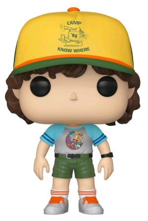 Stranger Things – Dustin Arcade Cat Tee US Exclusive Pop! Vinyl [RS]