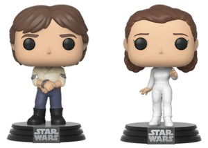 POP STAR WARS – HAN SOLO & PRINCESS LEIA (Bespin) 2PK VF