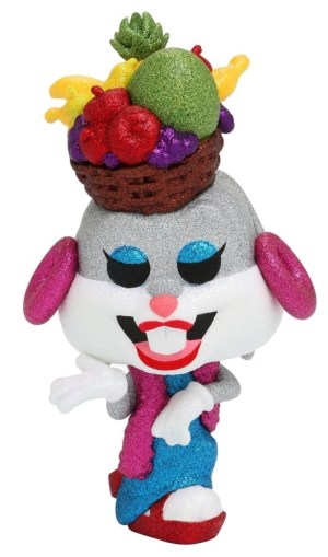 POP ANIMATION LOONEY TUNES – BUGS (Fruit Hat/Diamond Glitter) VF [840]