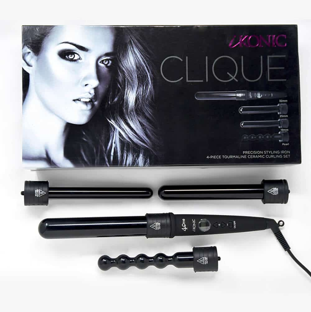Clique Curling wands Set with a box
