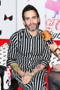 Marc Jacobs unveils his Diet Coke bottle collection in London. 12 March 2013 © Joe Alvarez