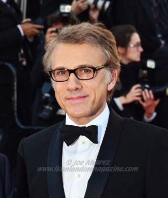 Christoph Waltz at Cannes Film Festival 2013 © Joe Alvarez