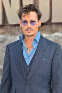 Johnny Depp Arriving at the London Premiere of The Lone Ranger