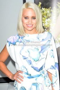 Kimberly Wyatt at Ashley Roberts new fashion label Launch in London 25 September 2013 © Joe Alvarez