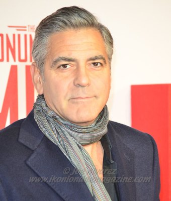 George Clooney at The Monument Men London Premiere © Joe Alvarez
