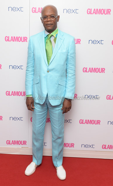 "Samuel L Jackson attends the ""Glamour Women Of The Year Awards"" at Berkeley Square."