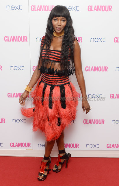 """Naomi Campbell attends the """"Glamour Women Of The Year Awards"""" at Berkeley Square."""