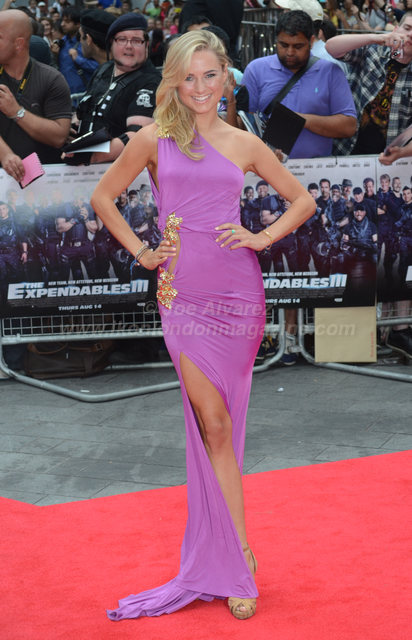 Kimberley Garner at the World Premiere of The Expendables 3 © Joe Alvarez
