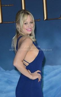 Kimberley Wyatt arrive at Cinderella London Premiere © Joe Alvarez