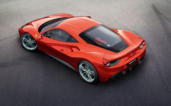 Ferrari 488 GTB launch party
