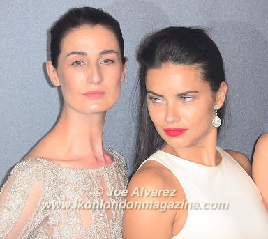 Erin O'Connor, Adriana Lima 68th Cannes Film Festival © Joe Alvarez