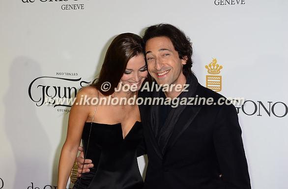 Adrien Brody & Partner 68th Cannes Film Festival © Joe Alvarez