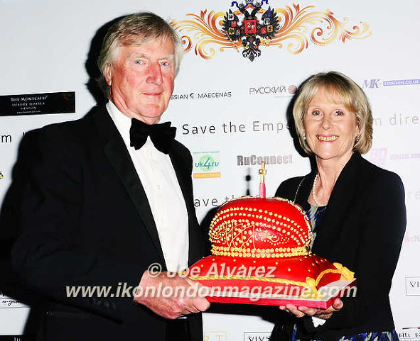 Hugh Wodehouse & Anthea Wodehouse The Russian Royal Charity Screening of the historical film 'Gentlemen Officers: Save the Emperor' at the Grand Ballroom of Luxury Hotel