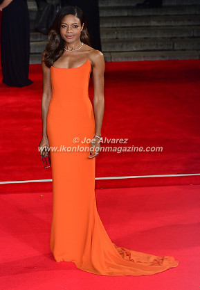 Naomi Harris at the World Premiere of Hames Bond Spectre at Royal Albert Hall © Joe Alvarez
