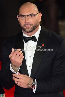 DAVE BAUTISTA at the World Premiere of Hames Bond Spectre at Royal Albert Hall © Joe Alvarez
