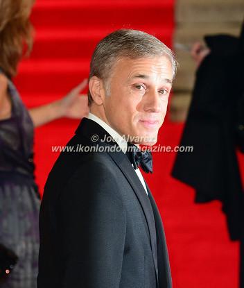 Christoph Waltz at the World Premiere of Hames Bond Spectre at Royal Albert Hall © Joe Alvarez