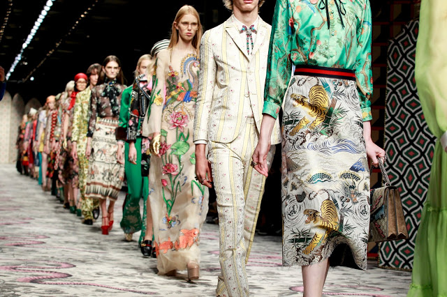 Gucci Floral trends