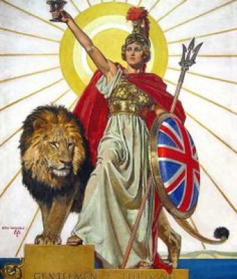 Britain in number one Britannia