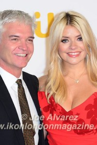 Phillip Schofield & Emma Willoughby ITV Gala 2015 © Joe Alvarez