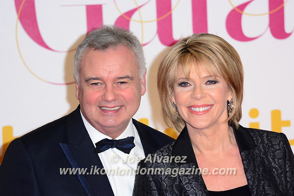 Eamonn Holmes & Ruth Langsford ITV Gala 2015 © Joe Alvarez