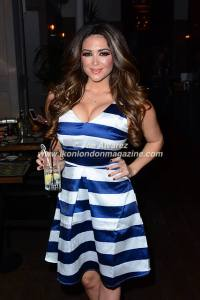 Casey Batchelor at UKAI Sushi launch in Noting Hill © Joe Alvarez