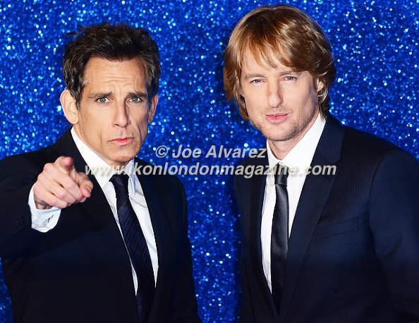 Ben Stiller, Owen Wilson at the London premiere of Zoolander 2 © Joe Alvarez