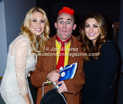 Stephanie Pratt, Clown Tweedy, Luisa Zissman Cirque Berserk © Joe Alvarez