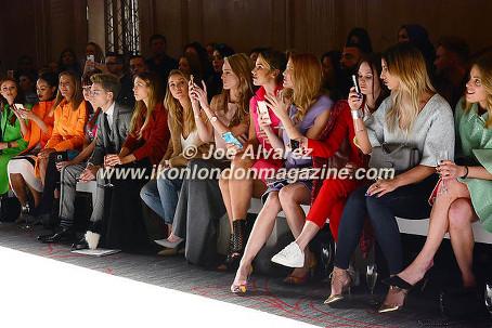 Front Row FROW Paul Costelloe AW16 Fashion Show © Joe Alvarez